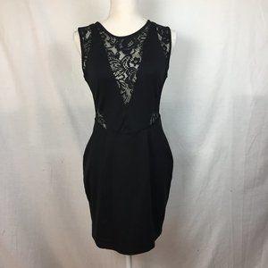 Mystic Lace Detail Backless Dress